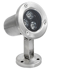 Подводные светильники для бассейнов и фонтанов 3Вт-RGB