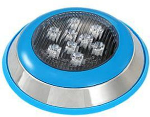 Подводные накладные светильники для бассейнов и фонтанов 9Вт-Теплый белый