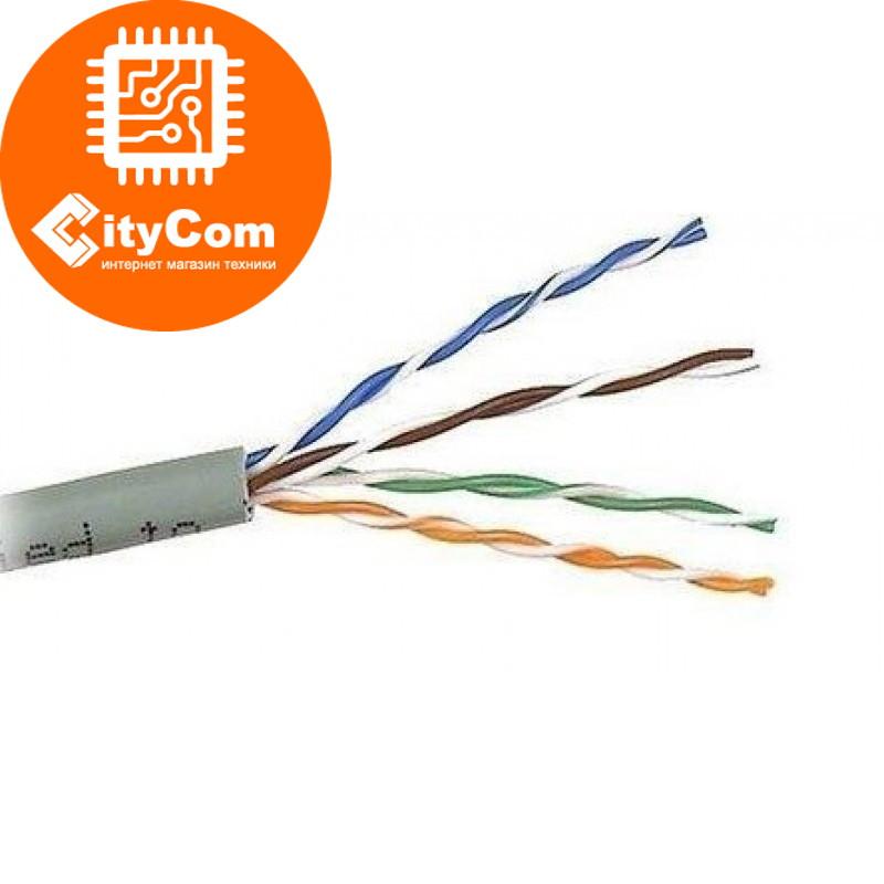 Сетевой кабель Cosmostar 5 категория, омедненная сталь, UTP Network cable Category 5E, бухта 305m