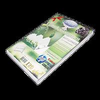 Фотобумага для струйной печати самоклеющ, А4 120г глянцевая