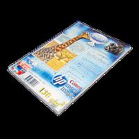 Фотобумага для струйной печати A4 130г/50л двустороняя глянцевая