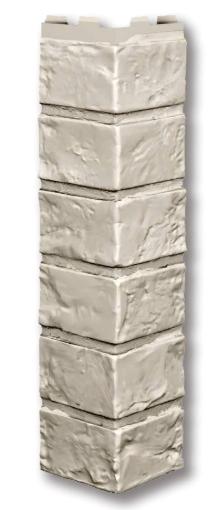 """Наружный угол 420x1000 мм VOX Vilo Brick """"Ivory"""" (Кирпич) """"Слоновая Кость"""""""