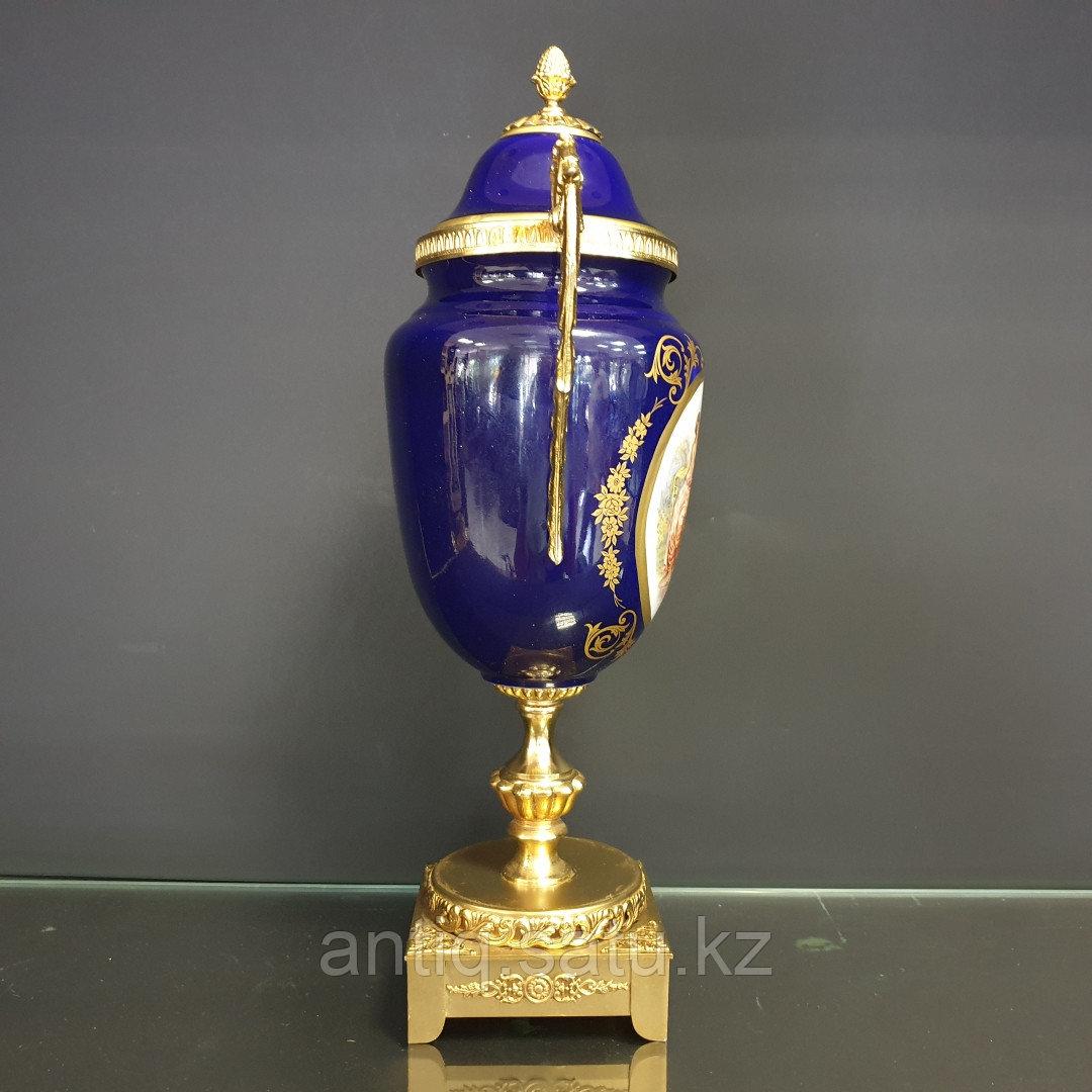 Парадная ваза в стиле Севр. Мануфактура LUMEDART - фото 2