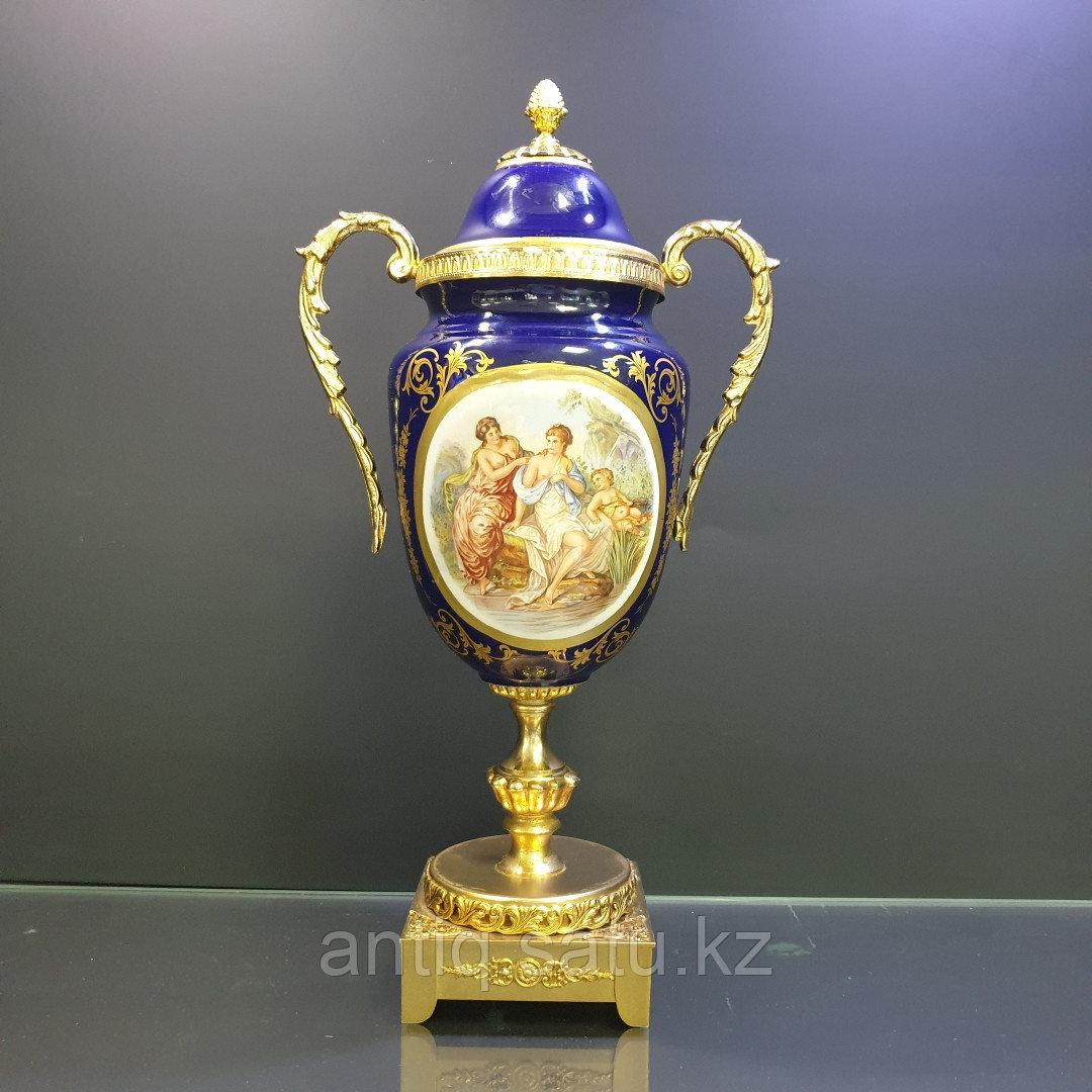 Парадная ваза в стиле Севр. Мануфактура LUMEDART - фото 1