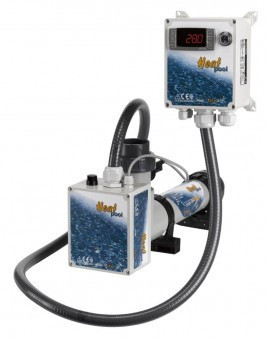 Электрическое отопление Heat Pool 9 кВт, 3F. титан