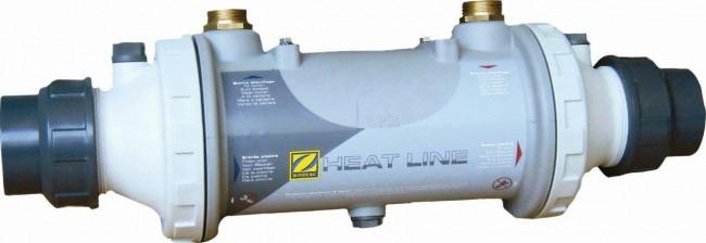 Теплообменник ZODIAC HEAT LINE; Титан 40 кВт, включающий обратный клапан