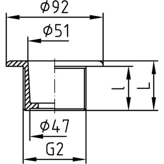 Теплообменник для бассейнов NWT 18, нерж. сталь, 20 кВт