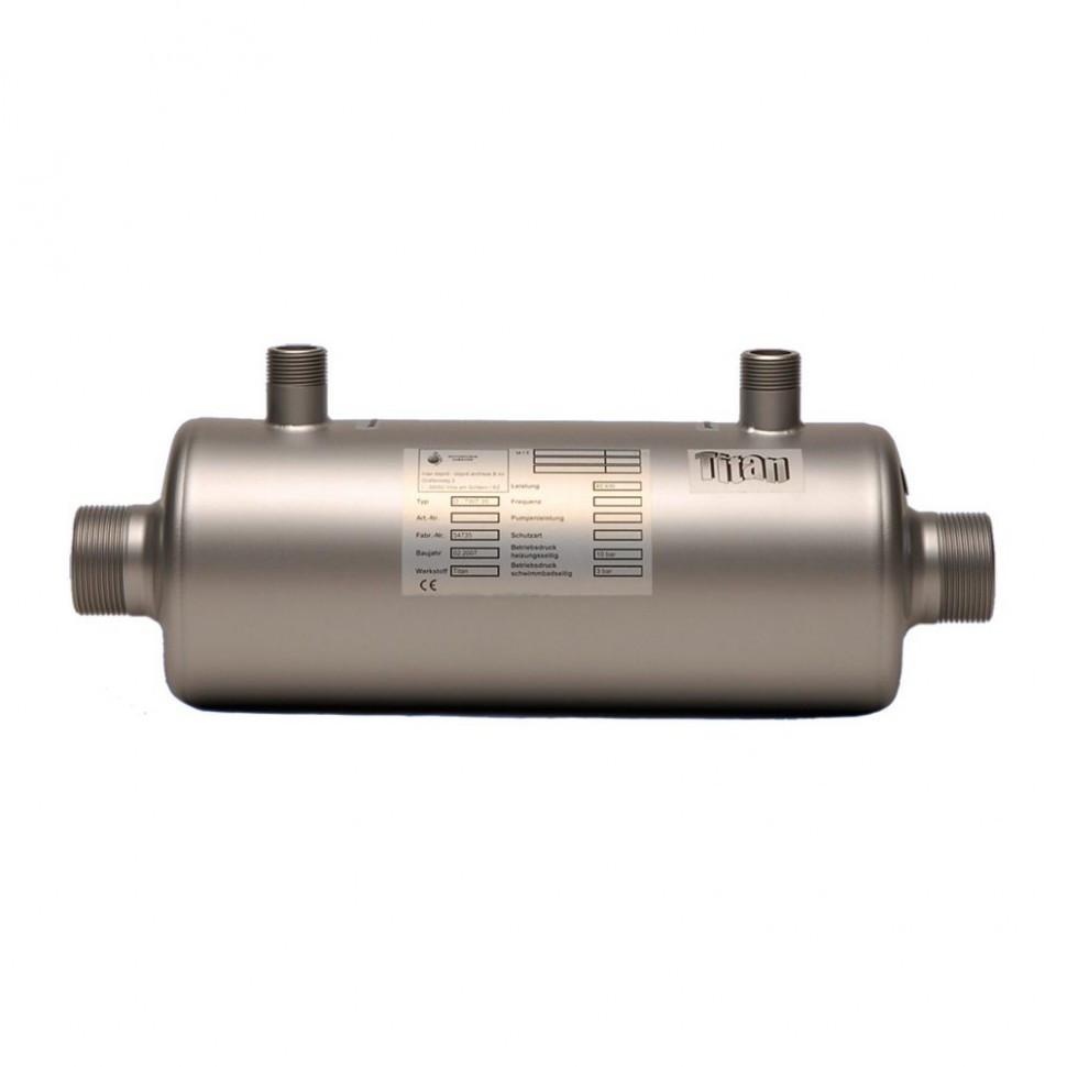 Теплообменник для бассейнов TWT 65 титановый, 76 кВт