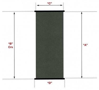Солнечный коллектор SC 1,2 м х 4,0 м