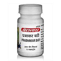 Прабхакар Вати для здоровья сердечно-сосудистой системы, 80 таб, производитель Байдьянатх; Prabhakar Bati, 80