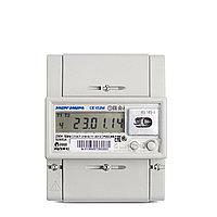 Счетчик электроэнергии однофазный многотарифный CE102M-R5 в ассортименте