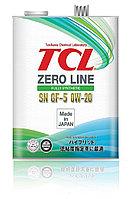 Моторное масло TCL Zero Line 0W-20 SN 4литрa