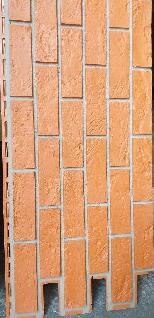 Фасадные панели 420x1000 мм VOX Vilo Brick Marron (Кирпич) Маррон