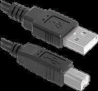 Кабель DEFENDER USB04-17 USB2.0 AM-BM, 5.0м (ДЛЯ ПРИНТЕРА)