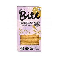 Хлебцы BITE кукурузно-рисовые с морской солью, 150 г