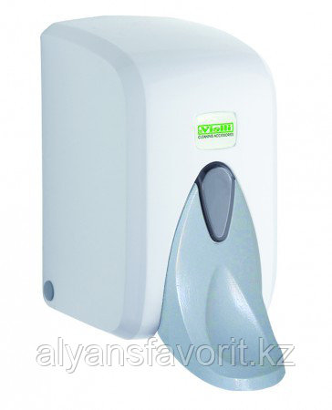 Диспенсер для жидкого мыла и антисептиов локтевой медицинский, 500 мл.