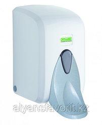 Диспенсер (дозатор) для жидкого мыла локтевой 500 мл. S5M, белый.Vialli