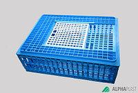 Пластиковый ящик для транспортировки живой птицы