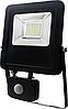 Светодиодный  прожектор с датчиком движения  20W  6500K IP 65
