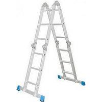 Лестница-трансформер СИБИН алюминиевая 4 x 3 ступеней