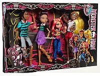 Набор кукол Монстер Хай Семейка Вульф, Monster High A Pack of Trouble