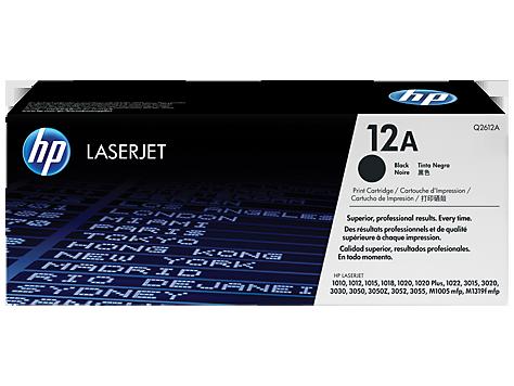 HP Q2612A Картридж лазерный черный HP 12A для LaserJet 1010/1012/1015/1020/3050/3052/3055