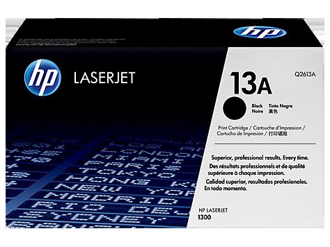 HP Q2613A Картридж лазерный черный HP 13A  для LaserJet 1300