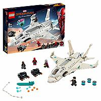 Конструктор LEGO Marvel Super Heroes Реактивный самолёт Старка и атака дрона 76130, фото 1