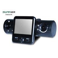Видеорегистратор с двумя встроенными камерами SUPA SP-704, фото 1