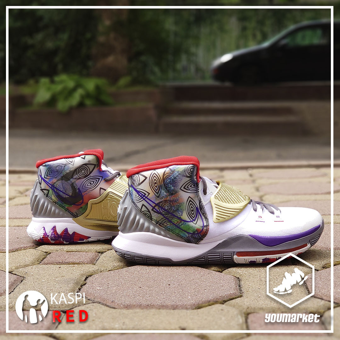 "Баскетбольные кроссовки Nike Kyrie 6 (VI) ""Huston"""