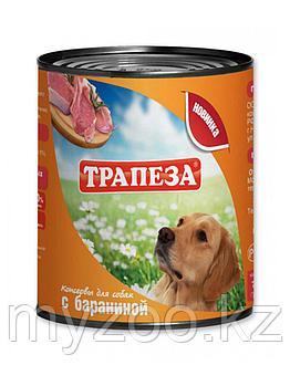 ТРАПЕЗА влажный корм для собак с бараниной 750 гр