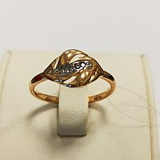 Золотое кольцо 18 размер