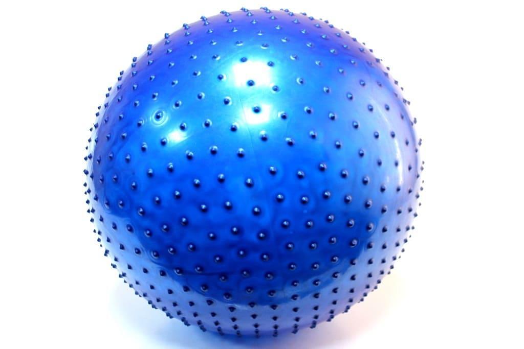 Фитбол 85 см  пупырышка НВ921-6