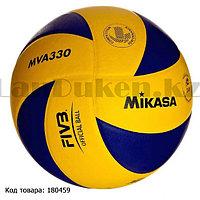 Мяч волейбольный Mikasa MVA330 кожаный