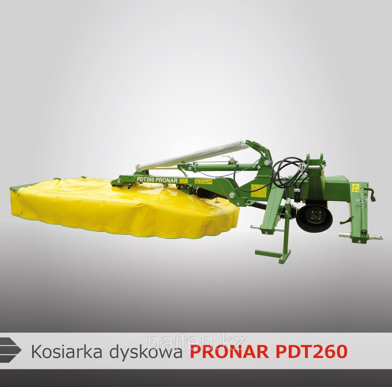 Дисковая задненавесная косилка PRONAR PDT260