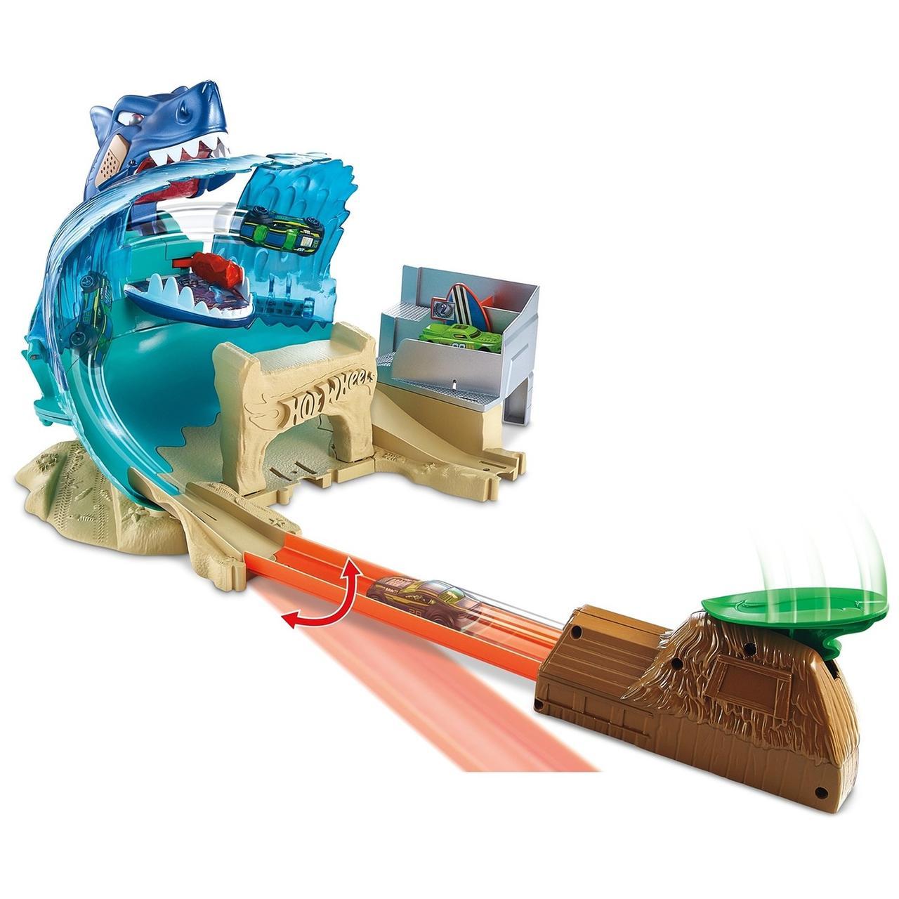 Набор игровой Hot Wheels Сити Схватка с акулой FNB21 - фото 7