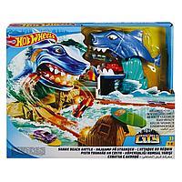 Набор игровой Hot Wheels Сити Схватка с акулой FNB21