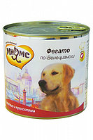 Влажный корм для собак всех пород Мнямс Фрегато по-Венециански телячья печень с пряностями