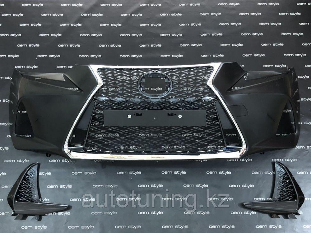 Фейслифт F sport (Бампер передний в сборе) на Lexus IS250/300/350 2017-2020 F SPORT