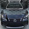 Фейслифт F sport (Бампер передний в сборе) на Lexus IS250/300/350 2017-2020 F SPORT, фото 2
