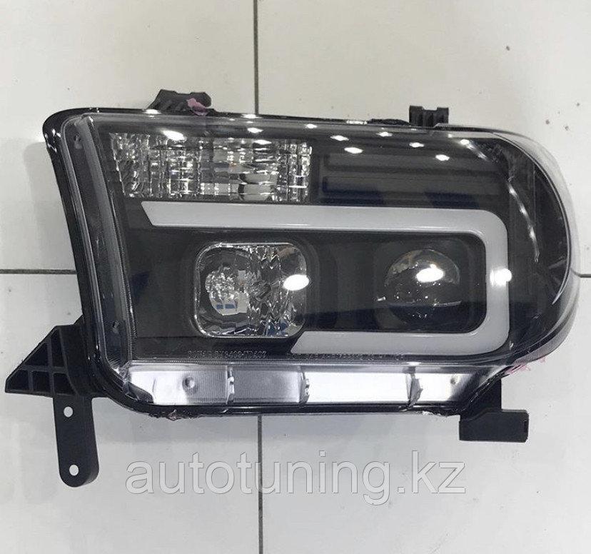 Альтернативная оптика (тюнинг передние фары) на Toyota Tundra /Sequoia 2007-2014