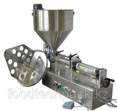 Полуавтомат розлива МД-500М1  с приемной емкостью