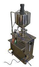 Полуавтомат розлива МД-500Д1 с мешалкой и рубашкой подогрева