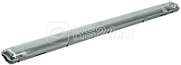 Светильник ДСП 2202 под LED лампу 2хT8 1200мм IP65 ИЭК LDSP0-2202-2X120-K01