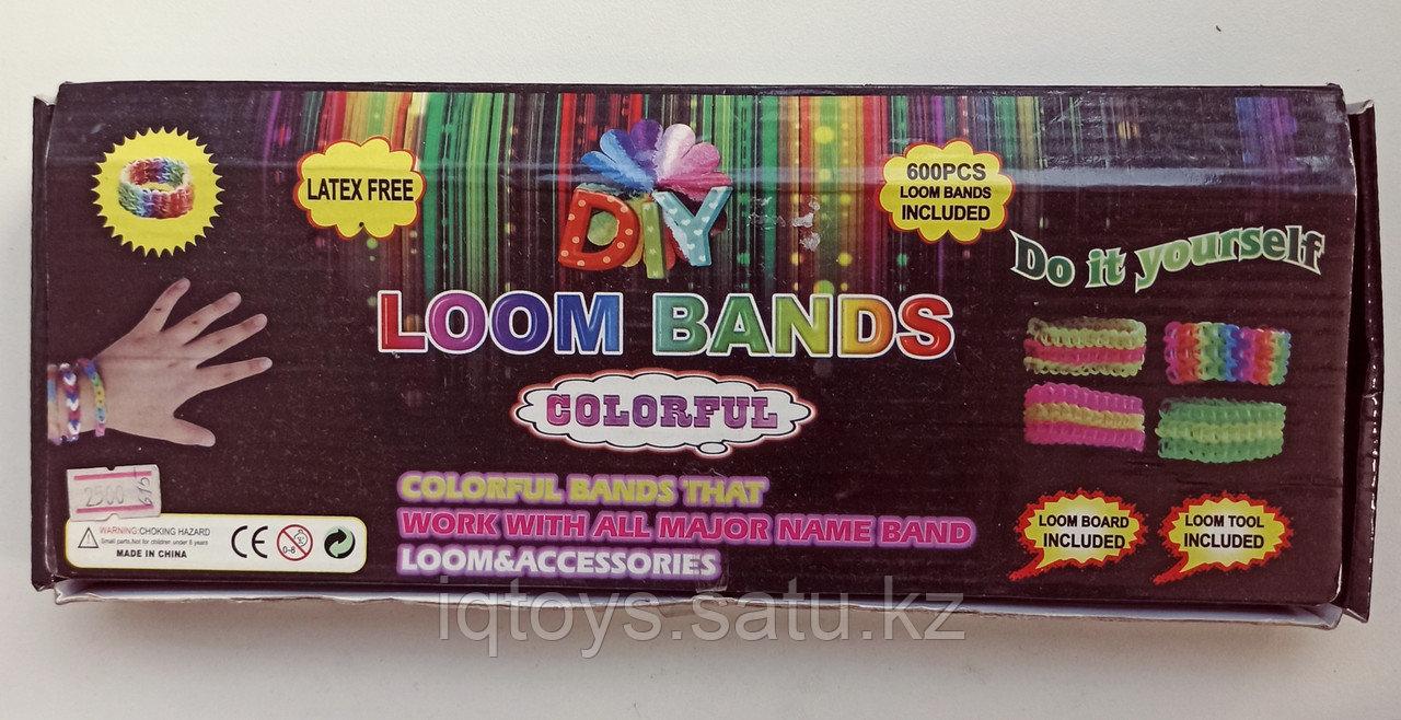 Набор для плетения резиночек (600 шт) Loom bands + подарок