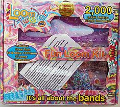 Набор для плетения резиночек (2000шт) Loom twister + подарок