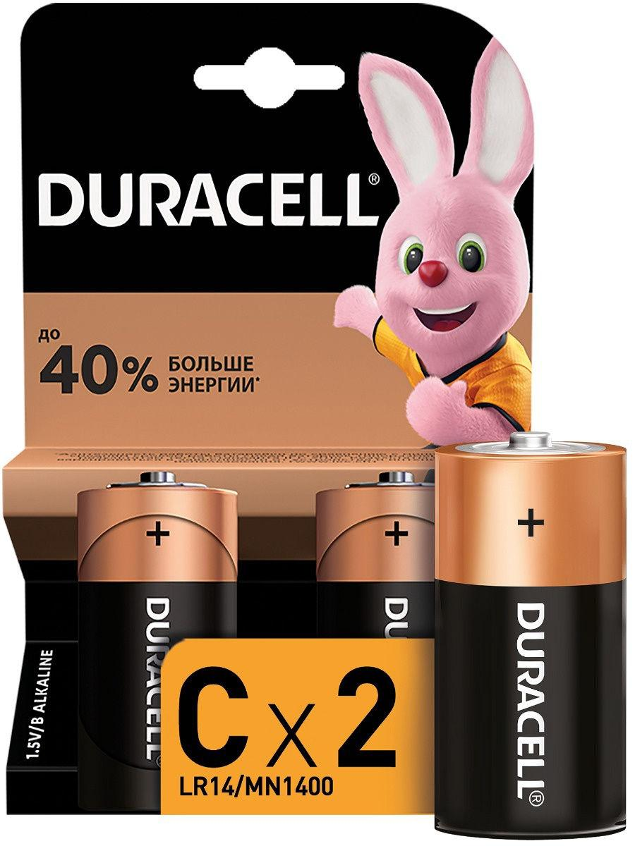 Батарейка DURACELL LR14 Basic С Бочонок (2 шт)