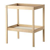 Пеленальный стол СНИГЛАР бук белый ИКЕА, IKEA, фото 1