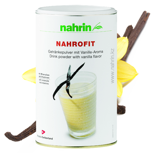 Коктейль Нарофит Ваниль Нарин Nahrin (Оригинал-Швейцария)