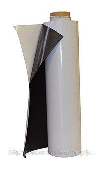 Пленка магнитная с клеевым слоем (толщина 0,8), ширина - 1м
